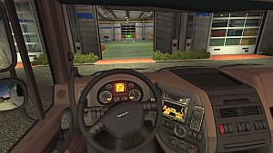 DAF XF dashboard by piva