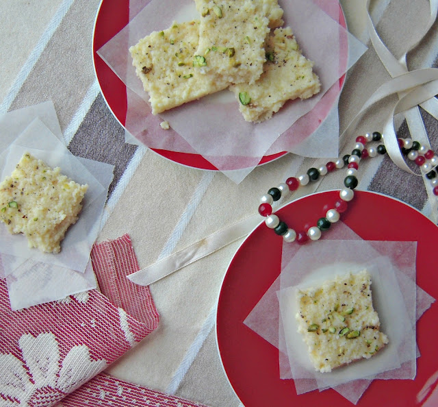 Kalakand is an Indian soft milk fudge sweet dish. Find my recipe for a quick and easy microwave Kalakand recipe here.