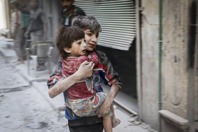 Gambaran Kejahatan Perang Koalisi Syiah di Aleppo