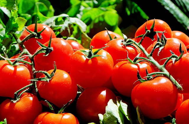 tomatoes for glowing skin