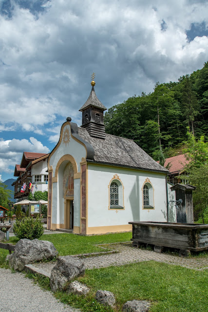 Höllentalklamm und Hupfleitenjoch  Wanderung Garmisch-Partenkirchen 15