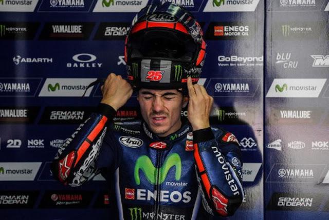 Vinales Ogah Pikirkan Insiden dengan Marquez di Kualifikasi MotoGP Amerika Serikat