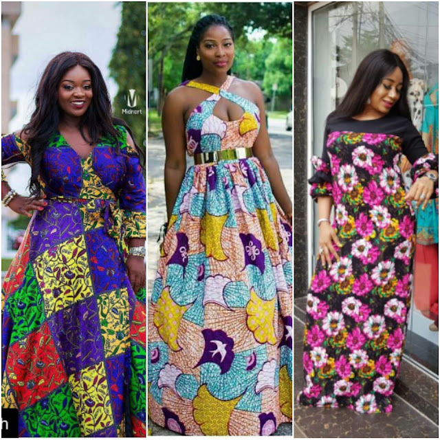 ANKARA MAXI DRESS STYLES