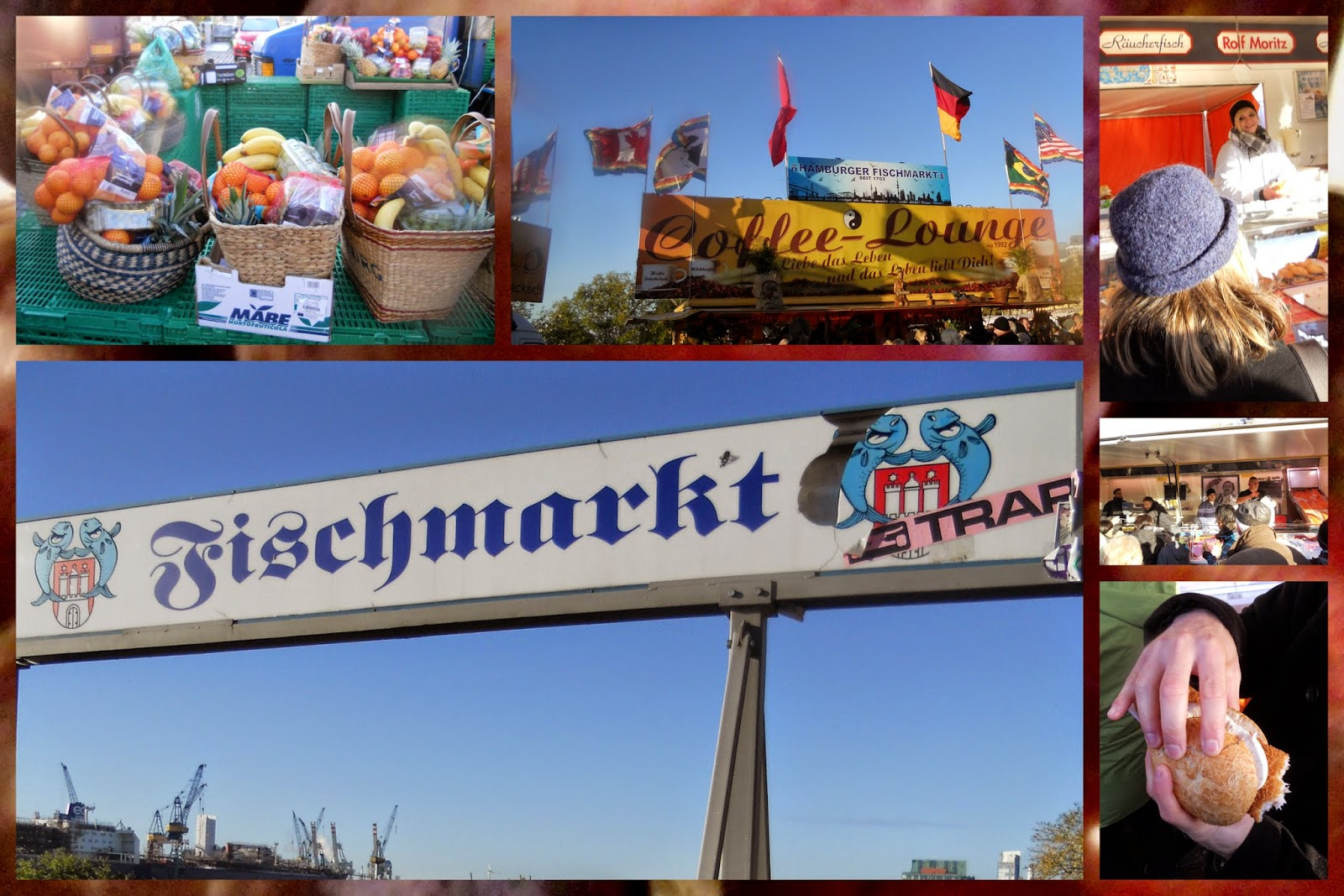 Best Sunday market in Europe: Fischmarkt in Hamburg, Germany