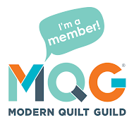 We are part of the Modern Quilt Guild