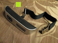 Erfahrungsbericht: Tragbare elektronische Waage Gepäckwaage silber