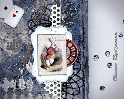 белый кролик, Льюис Кэролл, Алиса, ручная работа, подарок
