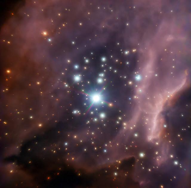 The region around the massive star IRS2