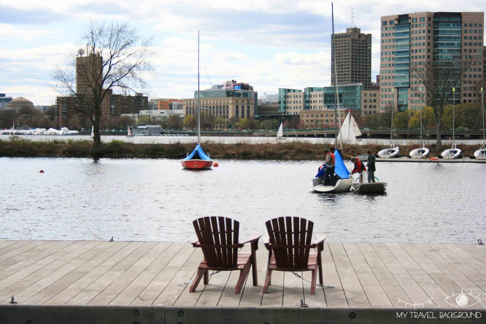 My Travel Background : la Charles River