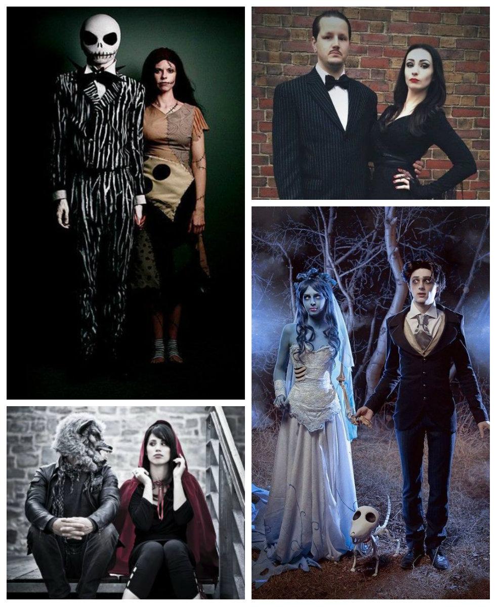 10 Disfraces de Halloween para parejas