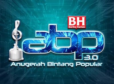 Senarai Top 5 dan Pemenang Anugerah Bintang Popular 3.0 (ABPBH 3.0)