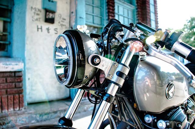 Honda CB750 độ Cafe Racer: Chuyện về gã bếp si Cafe Racer