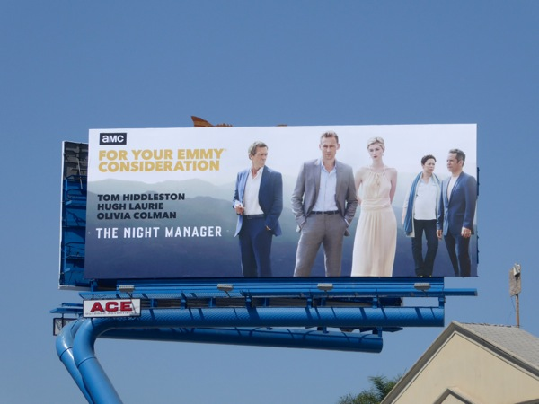Night Manager 2016 Emmy nomination billboard