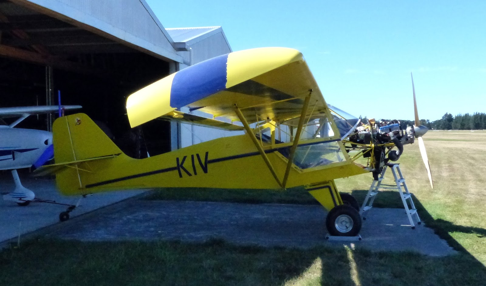 NZ Civil Aircraft: The Kitfox Godfrey Brothers