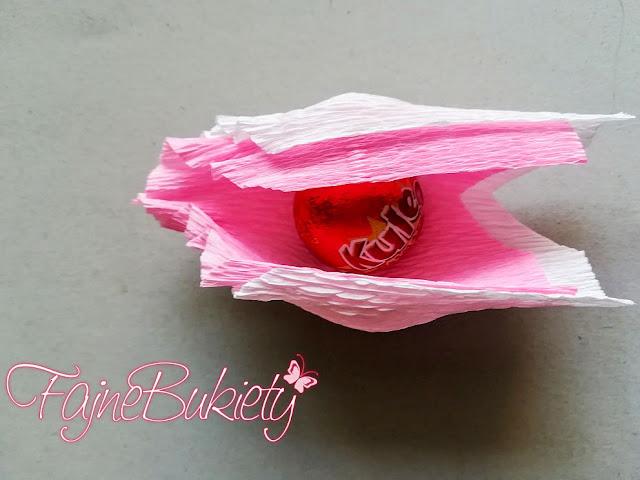 jak zrobić Bukiet z cukierków krok po kroku DIY instrukcja