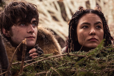 Landon Liboiron and Jessica Matten in Frontier Series (19)