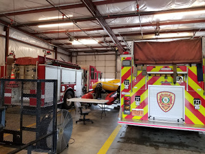 Inside fire station 2