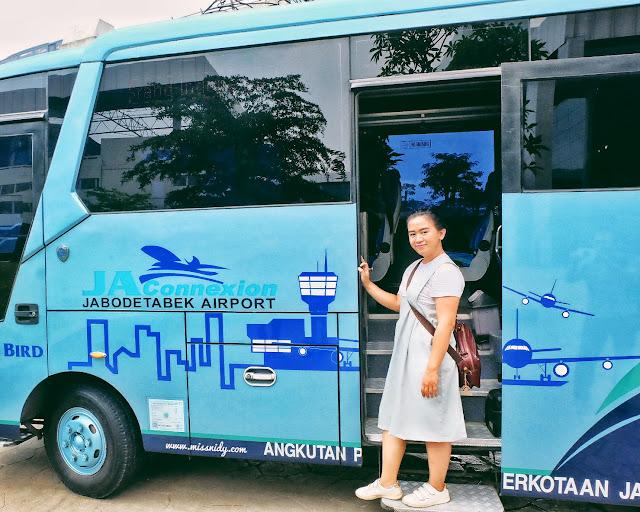 bus option from soekarno-hatta airport to jakarta