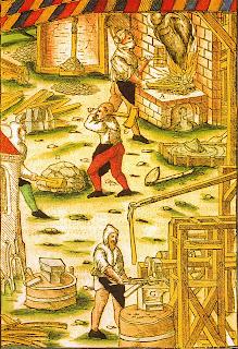 Передовое металлообрабатывающие производство шестнадцатого века