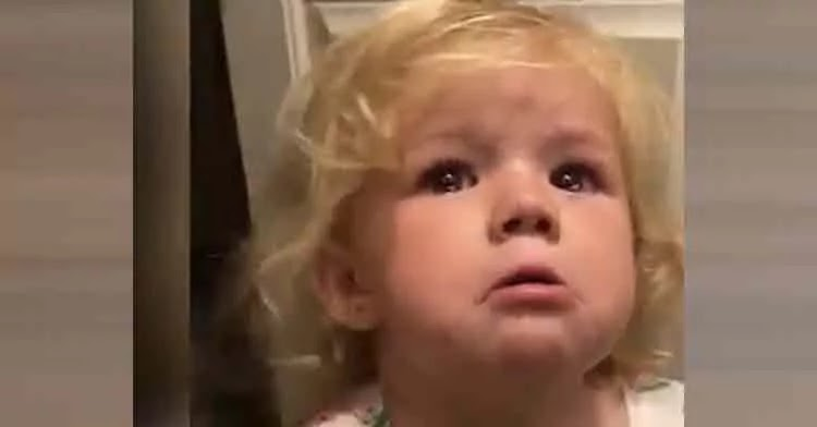 2-Year-Old Self-Sooths Using Positive Affirmation Techniques After Hurting Herself
