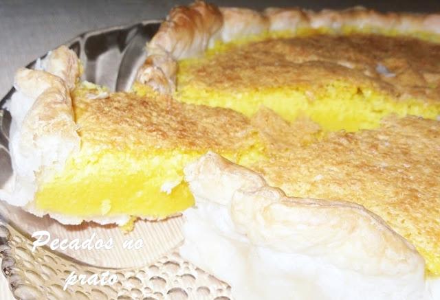 Receita da tarte de feijão