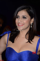 Mannara Chopra in Deep Neck Blue Gown at Zee Telugu Apsara Awards ~  Exclusive 004.jpg