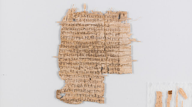 Basel papyrus likely written by the famous Greek physician Galen
