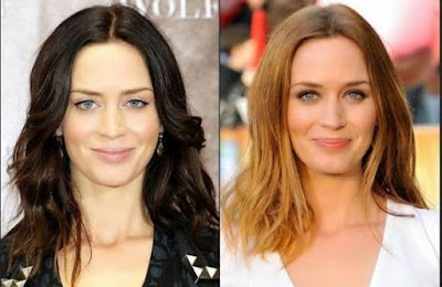 Emily Blunt Plastic Surgery Before and After Nose Job and Breast Implants Pictures
