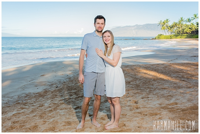 Maui Engagement Portrait Photographer