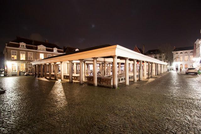 Mercato del pesce di notte-Markt