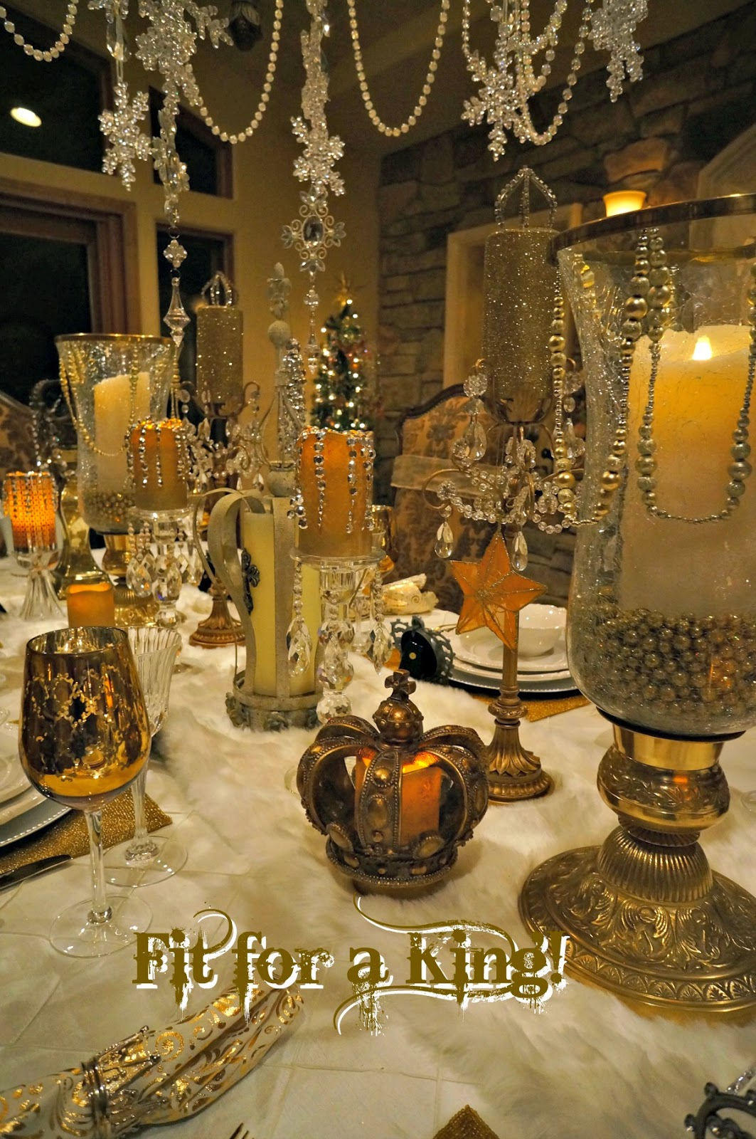 Table Fit For A King Life And Linda
