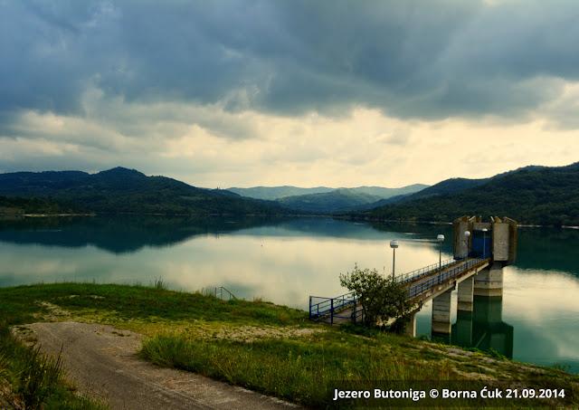 Akumulacijsko jezero u Istri Butoniga @ 21.09.2014