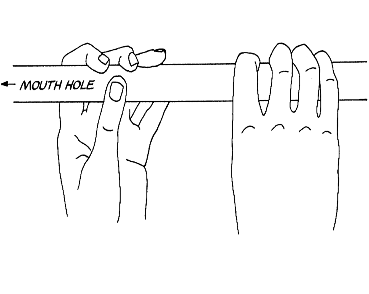 Carnatic Flute: How to hold your Venu