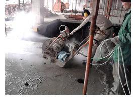 Алмазная резка полов и бетона швонарезчиком