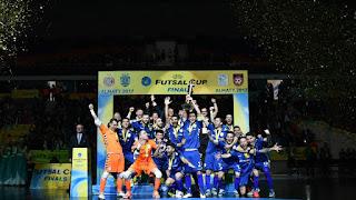 FÚTBOL SALA - UEFA Futsal Cup 2016/2017: El Inter se convierte en el más laureado de Europa goleando en la final
