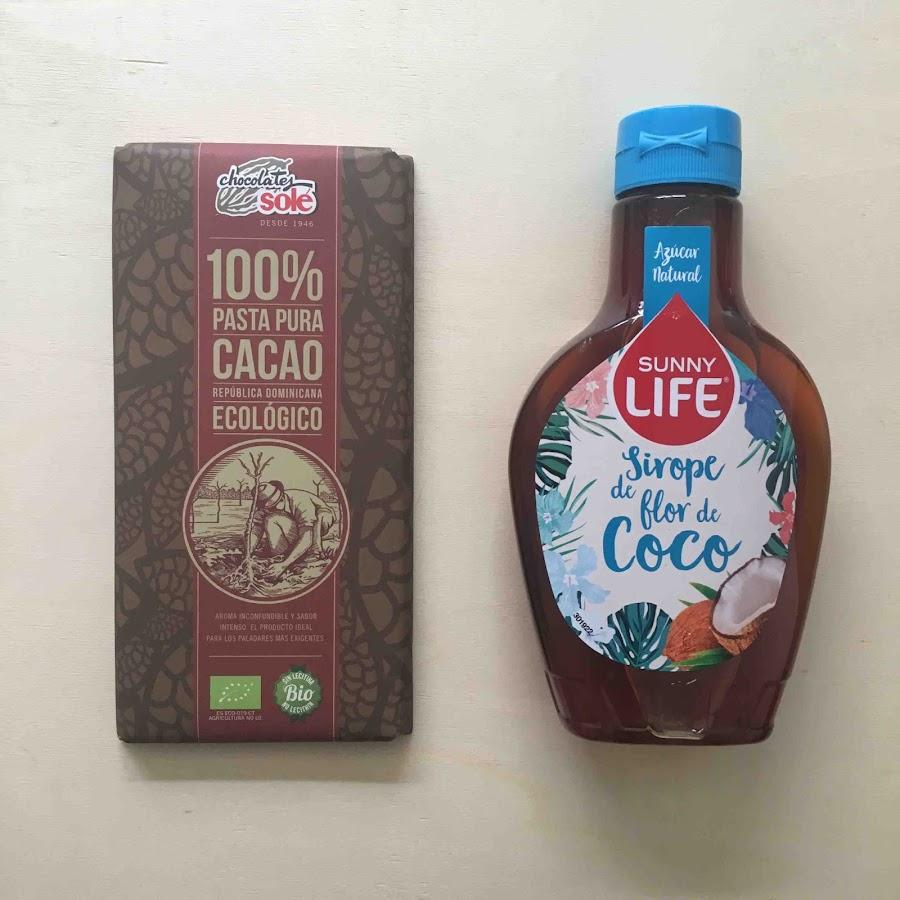 Sirope de Flor de Coco / Pasta Pura 100% Cacao