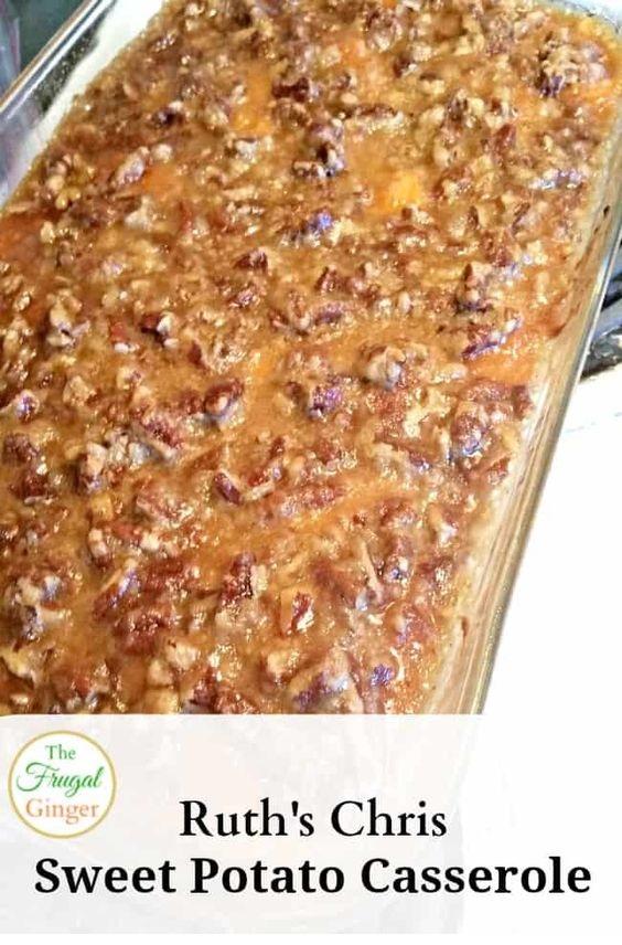 Ruth's Chris Sweet Potato Casserole Copycat Recipe