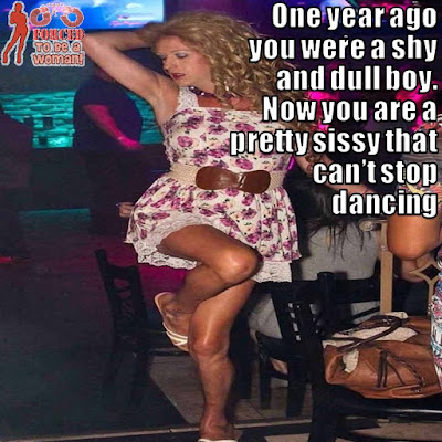 All night dancing Sissy TG Caption - TG Captions and more - Crossdressing and Sissy Tales and Captioned images