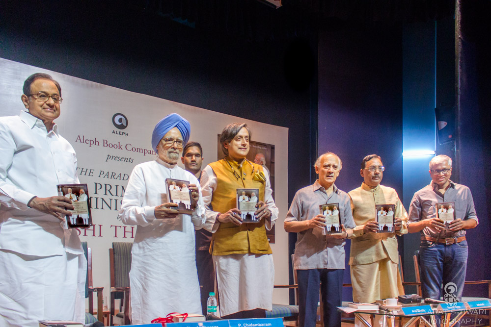 Dr Manmohan Singh, Dr Shashi Tharoor, Arun Shourie, Pavan K Varma, and Ashutosh