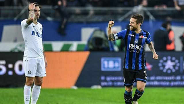 Serie A: Atalanta Shock Inter With A 4-1 Win