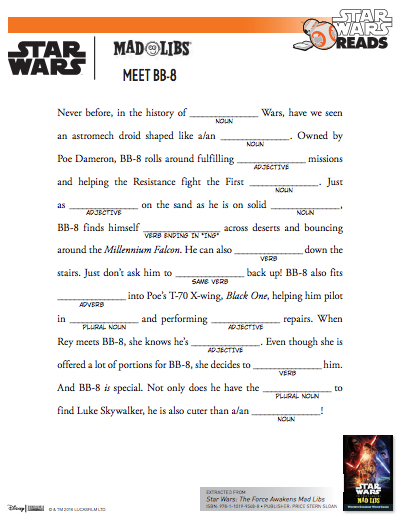 The Library Voice: Celebrate Star Wars Reads With A Little Making This ...