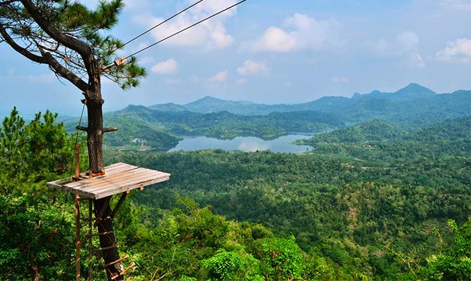 Bukit Kalibiru Kulonprogo