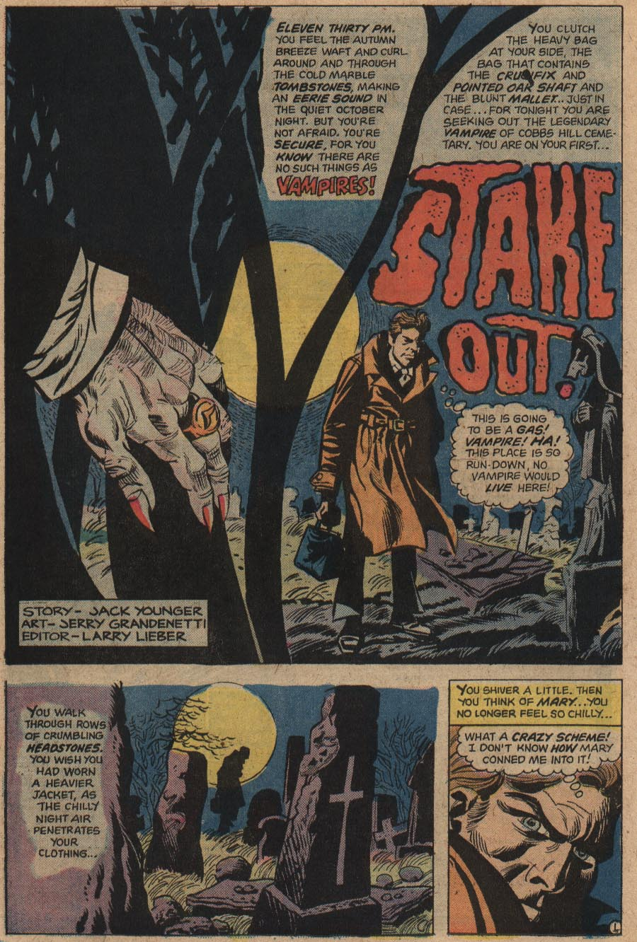 Seaboard's Tales Of Evil #1 (december 1974)? Or Did Editor  Larry