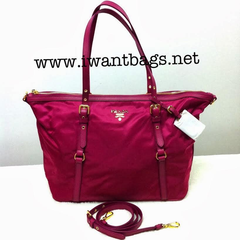 Prada Tessuto Saffiano Tote Prada Brown Handbag