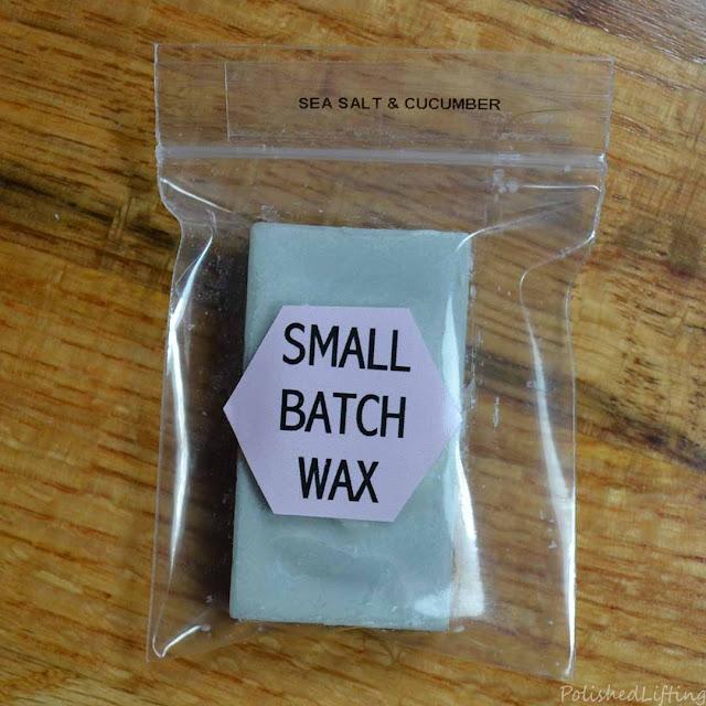sea salt & cucumber wax melt