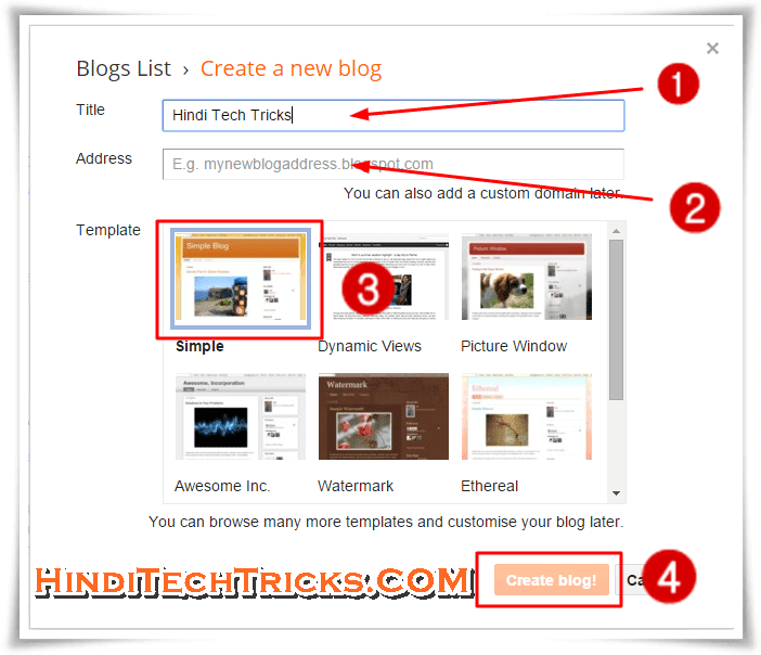 How-To-Create-Website-or-Blog-for-Free-of-Cost-in-Hindi