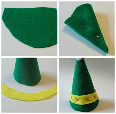 felt hat for elf