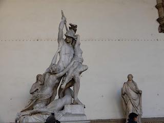 フィレンツェの銅像