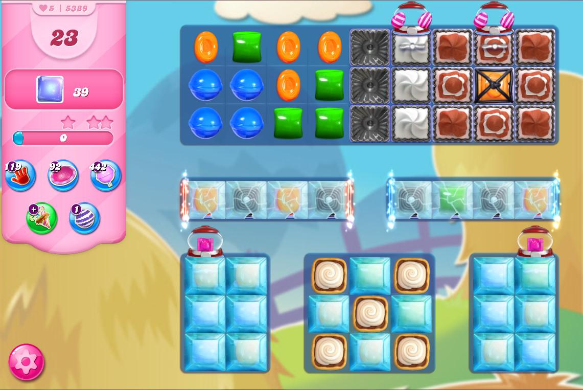 Candy Crush Saga level 5389