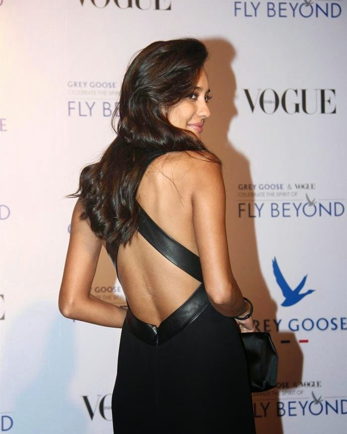 Lisa Hyadon, Pics from Red Carpet of Grey Goose & Vogue's Fly Beyond Awards 2014